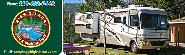 Yosemite RV Parks Camping Campgrounds Near National Park