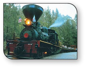 High Sierra RV & Mobile Park is nearby lots of great family attractions including the Yosemite Mountain Sugar Pine Railroad.