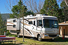 Premium Back-in RV Site