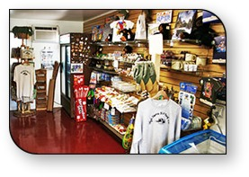 High Sierra RV Park has a great Gift & Snack Shop to bring you more convenience than Yosemite National Park Campgrounds.