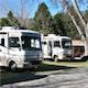 We have campsites to accomodate any size RV, trailer or 5th wheel, with both partial and full hook-ups available. We also have available Wi-Fi and Cable TV. Our office is conveniently located, with a wide variety of RV and camping supplies available for purchase.