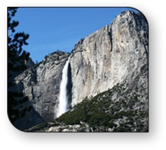 An incredible 9 times higher than Niagara Falls, Yosemite Fall is one of the most spectacular sights in Yosemite National Park.
